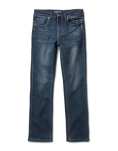 Silver Jeans Kids Tammy 1232 Bootcut Jeans-BLUE-6
