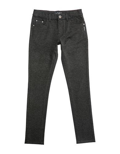Silver Jeans Kids Amy 1104 Skinny Ponte Jeans-GREY-8