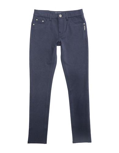 Silver Jeans Kids Amy 1104 Skinny Ponte Jeans-NAVY-8