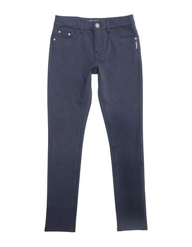 Silver Jeans Kids Amy 1104 Skinny Ponte Pants-NAVY-4