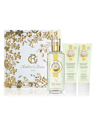 Roger & Gallet Three-Piece Green Tea Fragrant Water Set-NO COLOR-One Size