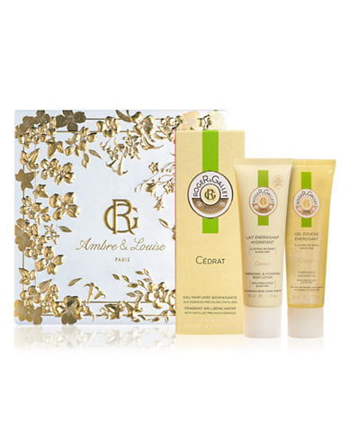 Roger & Gallet Three-Piece Citron Fragrant Water Set-NO COLOR-One Size