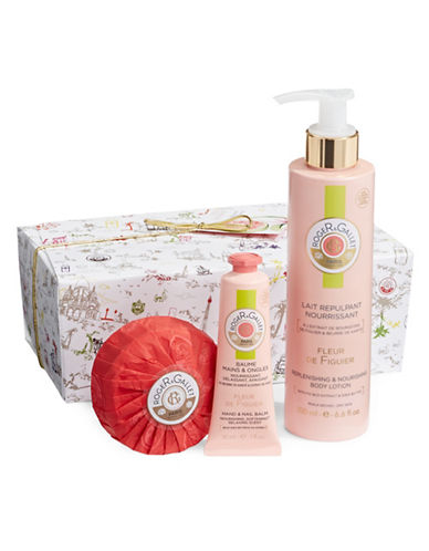 Roger & Gallet Fleur de Figuier Well Being Three-Piece Gift Set-NO COLOR-One Size