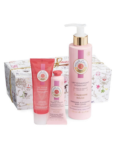 Roger & Gallet Gingembre Rouge Well Being Three-Piece Gift Set-NO COLOR-One Size