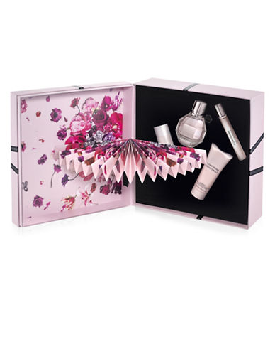 Viktor & Rolf Flowerbomb Four-Piece Refillable Gift Set-0-50 ml
