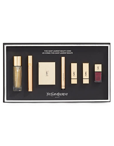 Yves Saint Laurent Seven-Piece Makeup Essential Set-NO COLOR-One Size