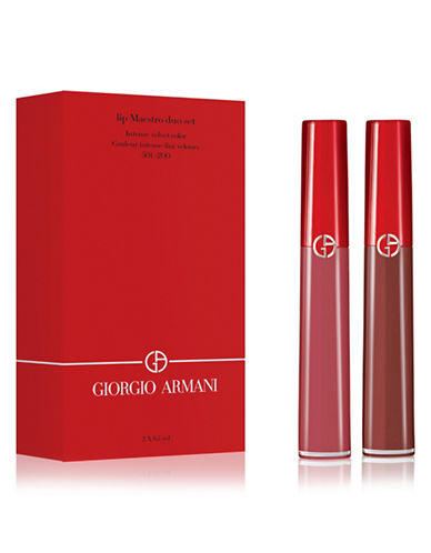 Giorgio Armani Two-Piece Lip Maestro Duo Set-ASSORTED-One Size