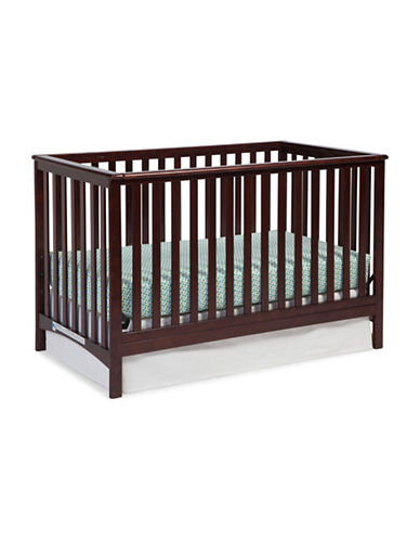 Storkcraft Hillcrest Fixed Side Convertible Crib-BROWN-One Size