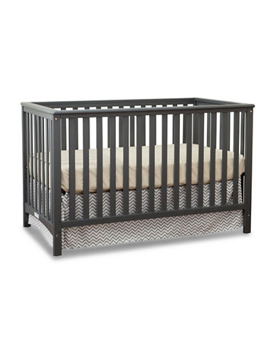 Storkcraft Hillcrest Fixed Side Convertible Crib-GREY-One Size