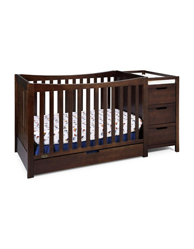 Graco Remi Crib and Changer-BROWN-One Size
