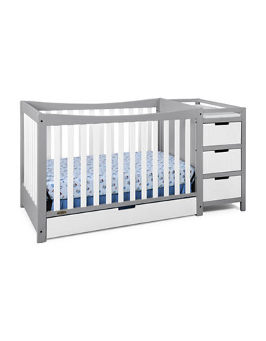 Graco Remi Crib and Changer-WHITE/GREY-One Size