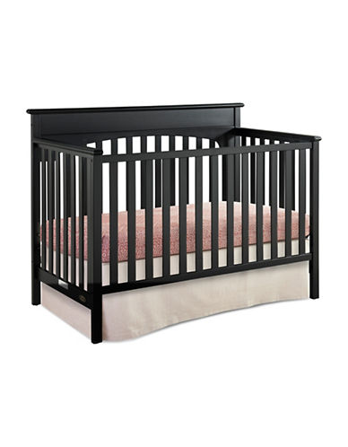 Graco Lauren 4-in-1 Convertible Crib-BLACK-One Size