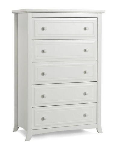 Graco Kendall Five-Drawer Chest-WHITE-One Size