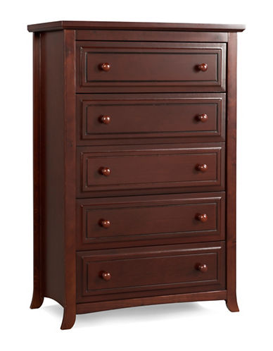 Graco Kendall Five-Drawer Chest-RED-One Size
