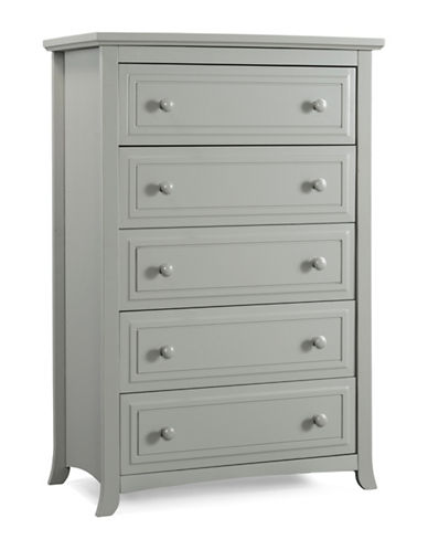 Graco Kendall Five-Drawer Chest-GREY-One Size