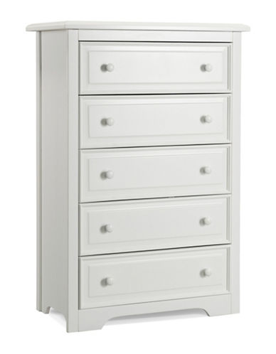 Graco Brooklyn Five-Drawer Chest-WHITE-One Size