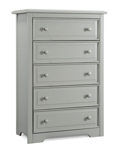 Graco Brooklyn Five-Drawer Chest-GREY-One Size
