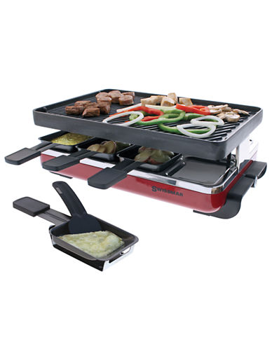 Swissmar Cast Iron Raclette-RED-One Size