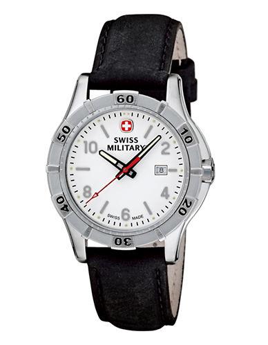Swiss Military Platoon Series Watch-BLACK-One Size