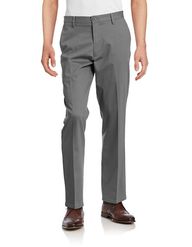 Dockers Straight Fit Signature Khaki with Stretch-BURMA GREY-38X32