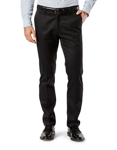 Dockers Slim-Tapered Fit Signature Khaki with Stretch-BLACK-32X34