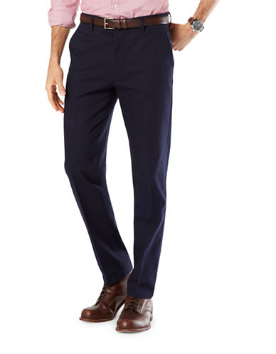 Dockers Slim-Tapered Fit Signature Khaki with Stretch-DOCKERS NAVY-34X34