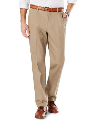 Dockers Slim-Tapered Fit Signature Khaki with Stretch-TIMBERWOLF-32X32