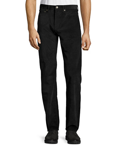 Dockers Jean Cut Corduroy Pants-BLACK-40X32