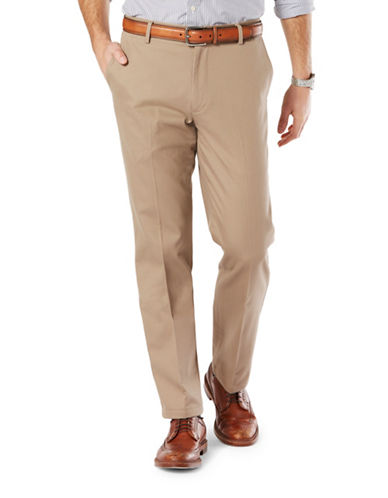 Dockers Straight Fit Signature Khaki with Stretch-TIMBERWOLF-34X30