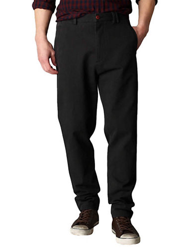 Dockers Laundered Standard Pants-BLACK-Small 88658529_BLACK_Small