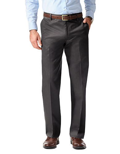 Dockers Straight-Fit Signature Pants-GREY-32X34