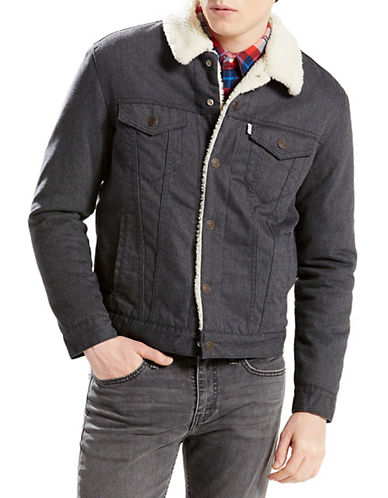 Levi'S Sherpa Trucker Jacket-BLUE-Small 88548978_BLUE_Small