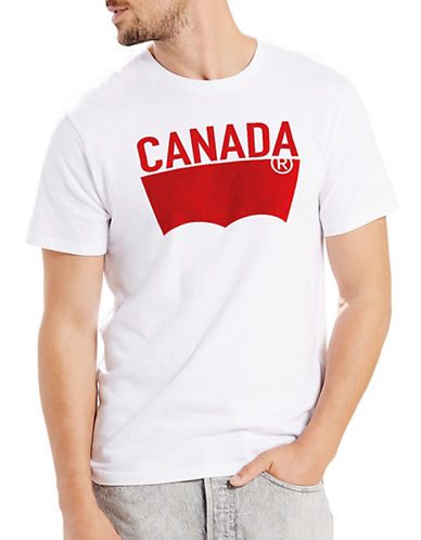 LeviS Canada Graphic Tee-WHITE-Large
