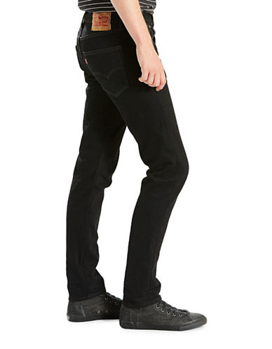 Levi'S 501 Skinny Fit Jeans Black Punk-BLACK-36X30