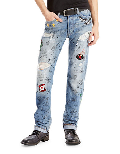 LeviS Limited Edition 501 Celebration Jeans-BLUE-30X32