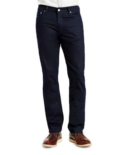 Levi'S 513 Slim Straight Fit Pants Nightwatch Blue-NAVY-33X34