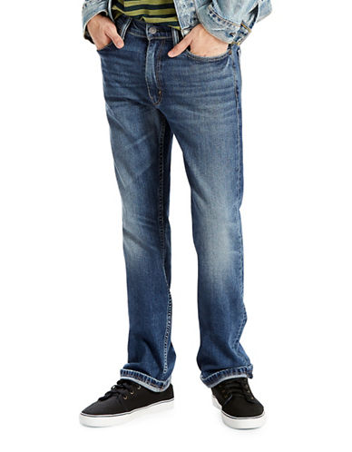 LeviS 513 Slim Straight Fit Jeans Emgee-BLUE-34X30