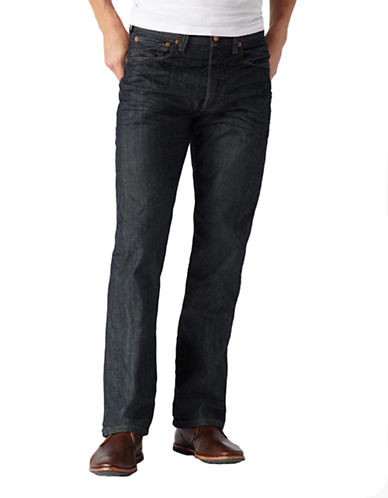 LeviS 501 Original  Dimensional Rigid-BLUE-32X30