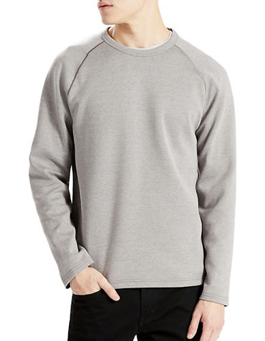 Levi'S Commuter Long Sleeve Tee-GREY-X-Large 89060157_GREY_X-Large