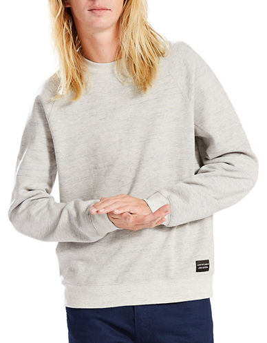 Levi'S Line 8 Sweatshirt-GREY-Medium 89060218_GREY_Medium