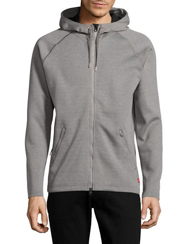 Levi'S Full Zip Hoodie-GREY-X-Large 89060244_GREY_X-Large