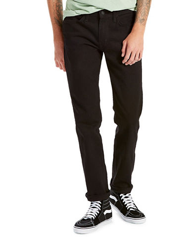 LeviS Line 8 511 Slim Straight Jeans-BLACK-28X32