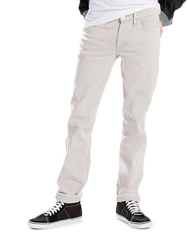 LeviS Line 8 Slim Straight Jeans-GREY-33X32