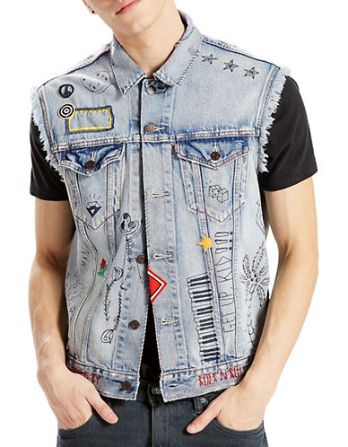 LeviS Limited Edition Celebration Vest-BLUE-Medium