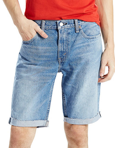 LeviS 511 Slim Fit Cut-Off Shorts Bob-BLUE-38