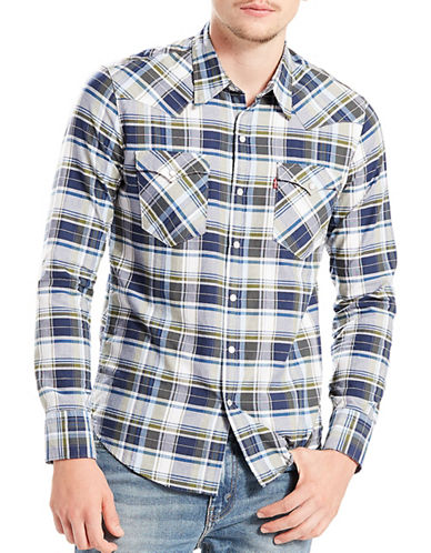 LeviS Barstow Western Shirt-NATURAL-X-Large