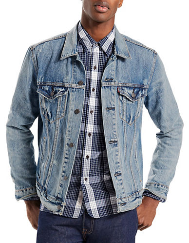 LeviS Trucker Jacket Queen-BLUE-Small
