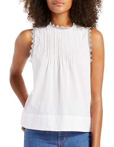 Levi'S Janis Sleeveless Top-WHITE-Small 89311862_WHITE_Small