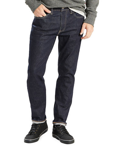 LeviS 502 Regular Tapered Fit Jeans  - Chain Rinse-BLUE-30X30