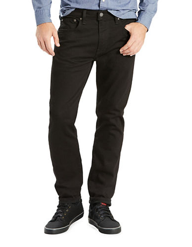 Levi'S 502 Regular Tapered Fit Jeans -  Night Shine-BLACK-32X30